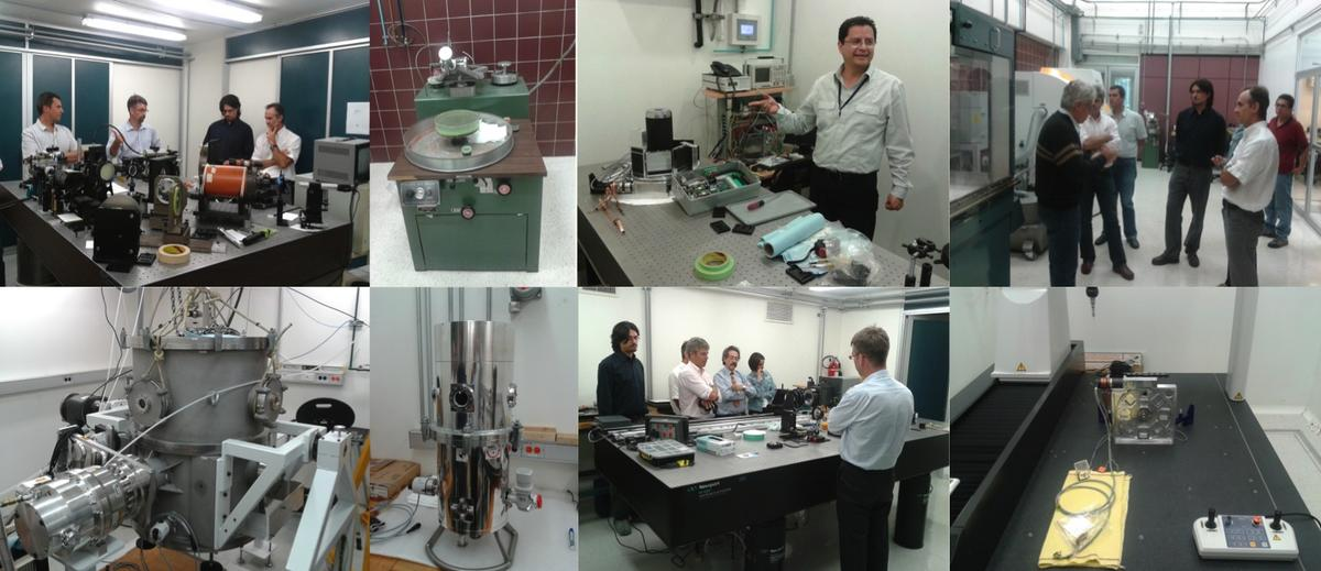 Laboratories at UNAM devoted to the development of astronomical instrumentation