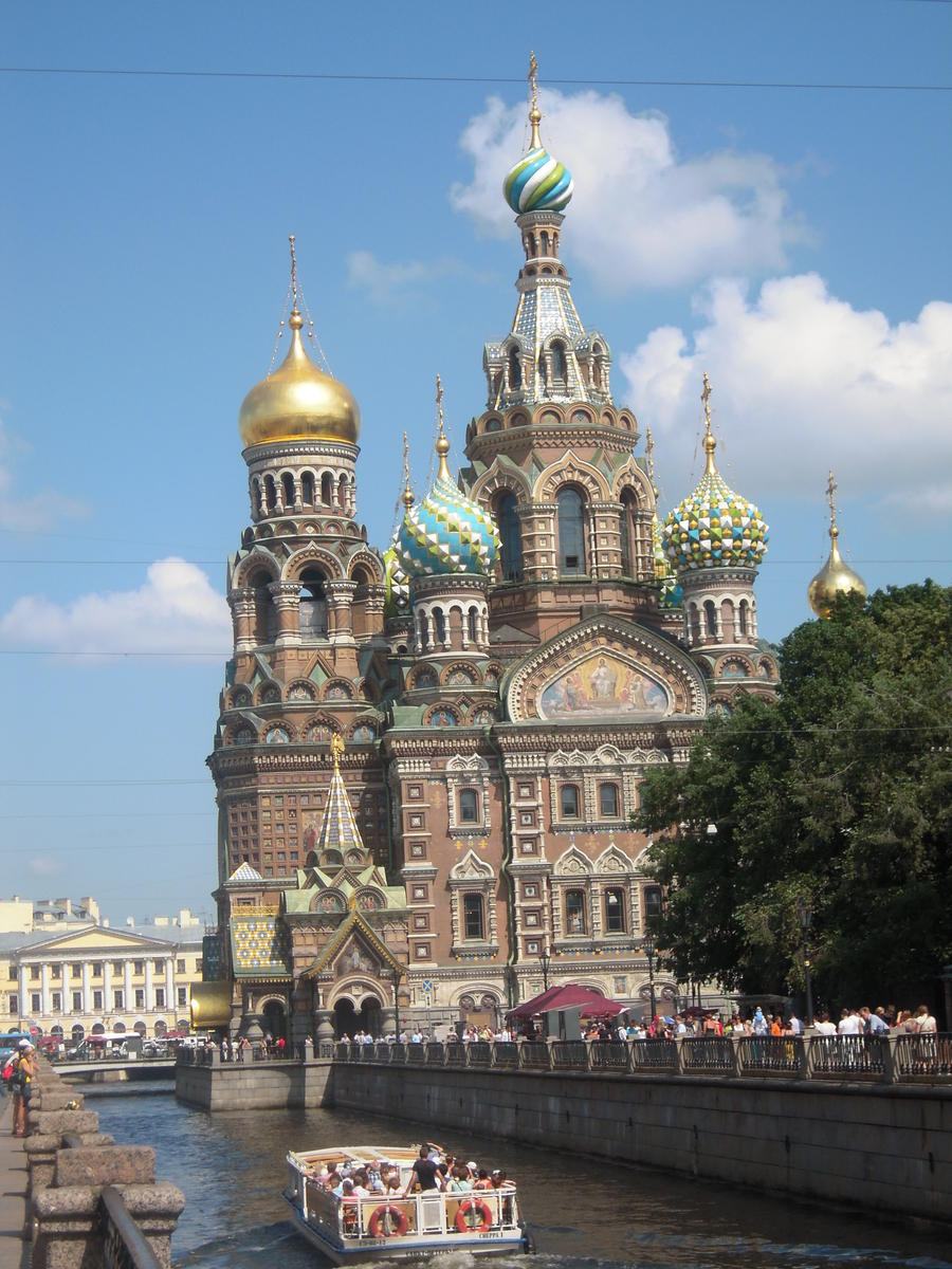 The Church of Our Savior on the Spilled Blood, at Saint Petersburg. Photo Credits: Dr. Carlos López-SanJuan